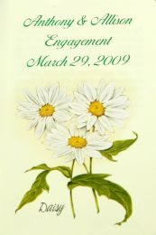 Daisy Engagement Party Seed Favor