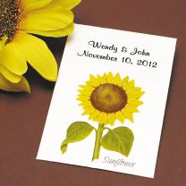Sunflower Seed Packet Favor